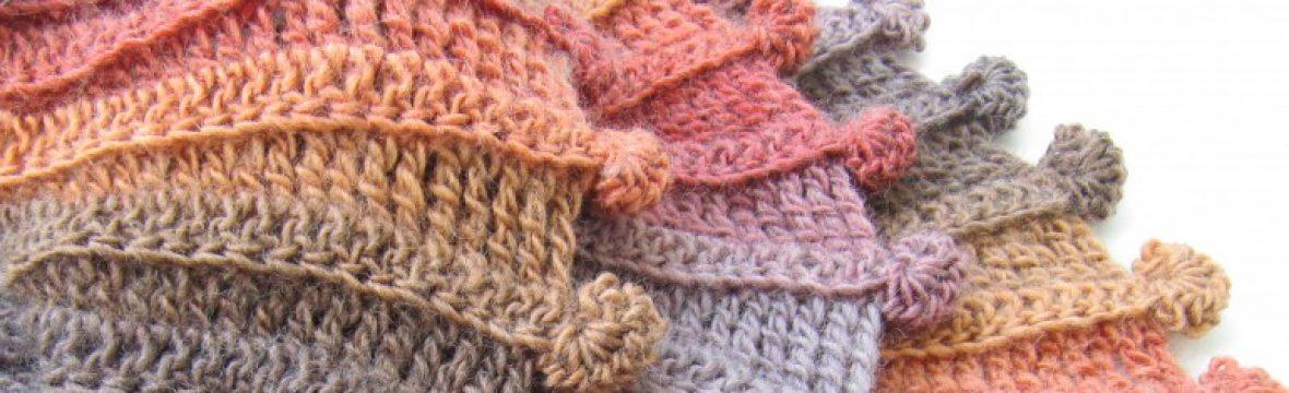 Crochet Pattern Mohair Cowl Scarf With Flower Lyubava Crochet