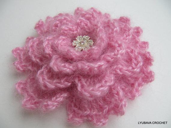Crochet Brooches Patterns Lyubava Crochet