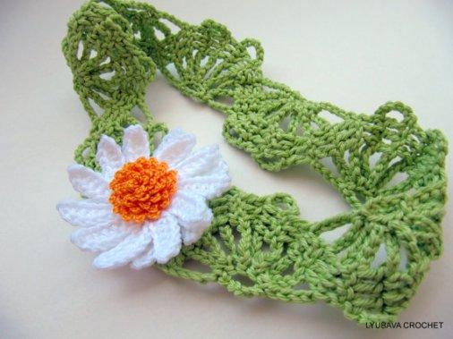 Easy Daisy Flower Headband