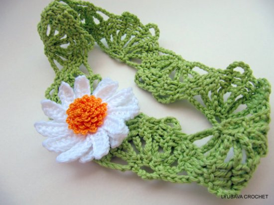 Easy Daisy Flower Headband