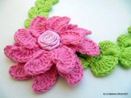 Lyubava Flower Headband