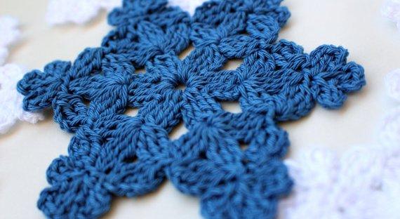 Snowflake Crochet Pattern – LYUBAVA CROCHET