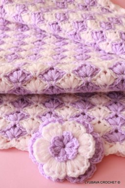 crochet pattern baby blanket