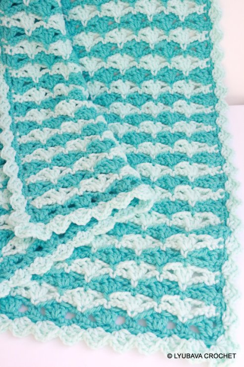 chunky baby blanket crochet pattern