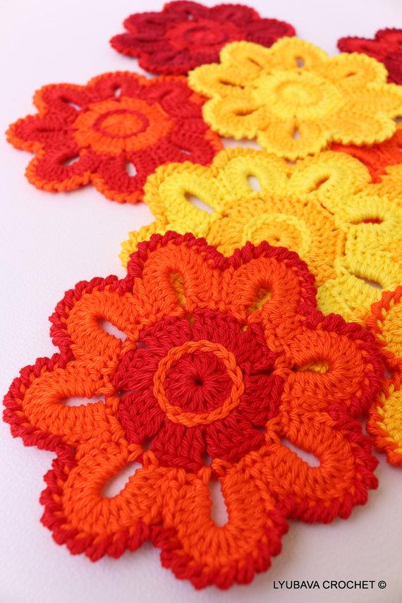 Flowers – LYUBAVA CROCHET