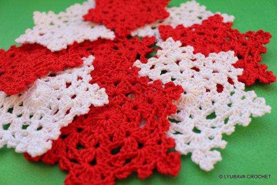 Crochet Snowflake Easy Crochet Pattern Lyubava Crochet