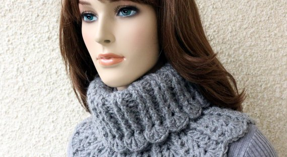 Crochet Neck Warmer Pattern Lyubava Crochet