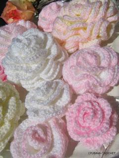 Crochet Rose Pattern Tutorial