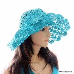 Women's Crochet Summer Hat Pattern