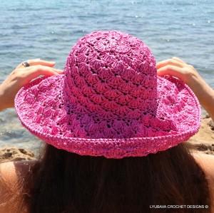 Lyubava Crochet Summer Hat Pattern