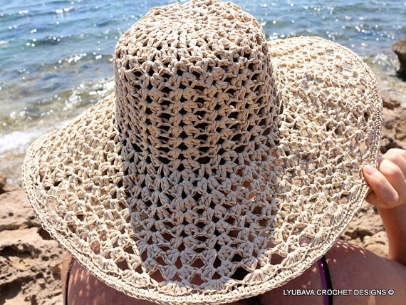 Hat Summer ? LYUBAVA CROCHET