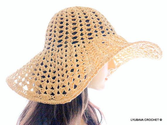 Hat Summer Lyubava Crochet