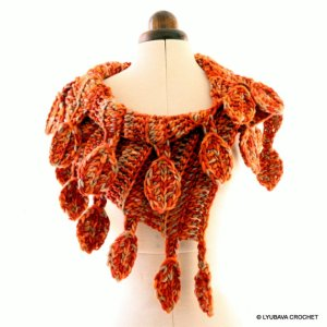 Autumn Crochet Scarf Pattern
