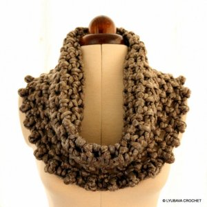 crochet pattern chunky cowl